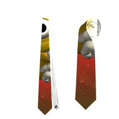 Funny Christmas Smiley Neckties (One Side)