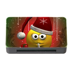 Funny Christmas Smiley Memory Card Reader with CF