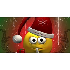 Funny Christmas Smiley YOU ARE INVITED 3D Greeting Card (8x4)