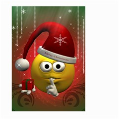 Funny Christmas Smiley Large Garden Flag (Two Sides)