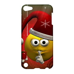 Funny Christmas Smiley Apple iPod Touch 5 Hardshell Case