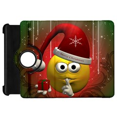 Funny Christmas Smiley Kindle Fire HD Flip 360 Case
