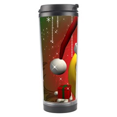 Funny Christmas Smiley Travel Tumblers