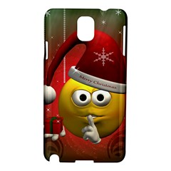 Funny Christmas Smiley Samsung Galaxy Note 3 N9005 Hardshell Case