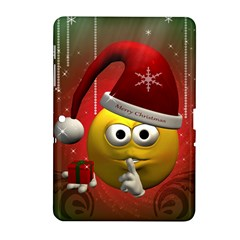 Funny Christmas Smiley Samsung Galaxy Tab 2 (10.1 ) P5100 Hardshell Case