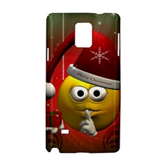 Funny Christmas Smiley Samsung Galaxy Note 4 Hardshell Case