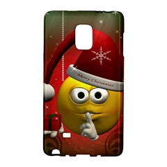 Funny Christmas Smiley Galaxy Note Edge