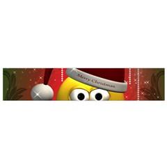 Funny Christmas Smiley Flano Scarf (Small)