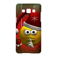 Funny Christmas Smiley Samsung Galaxy A5 Hardshell Case