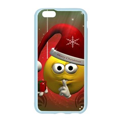 Funny Christmas Smiley Apple Seamless iPhone 6 Case (Color)