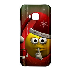 Funny Christmas Smiley HTC One M9 Hardshell Case