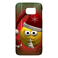 Funny Christmas Smiley Galaxy S6