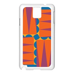 Angles Samsung Galaxy Note 3 N9005 Case (White)