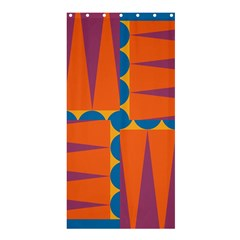AnglesShower Curtain 36  x 72