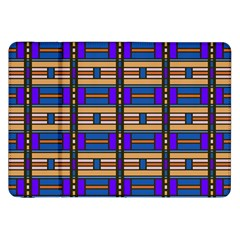 Rectangles and stripes pattern Samsung Galaxy Tab 8.9  P7300 Flip Case