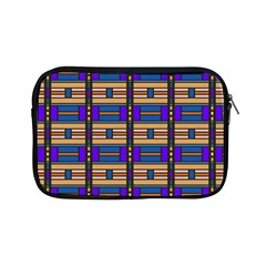 Rectangles and stripes pattern Apple iPad Mini Zipper Case