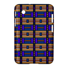 Rectangles and stripes pattern Samsung Galaxy Tab 2 (7 ) P3100 Hardshell Case