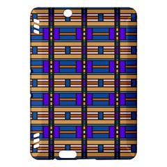 Rectangles and stripes patternKindle Fire HDX Hardshell Case