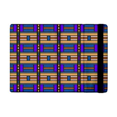 Rectangles and stripes pattern	Apple iPad Mini 2 Flip Case