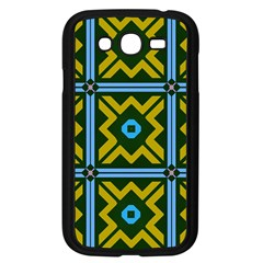 Rhombus in squares pattern Samsung Galaxy Grand DUOS I9082 Case (Black)
