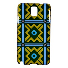 Rhombus in squares pattern Samsung Galaxy Note 3 N9005 Hardshell Case