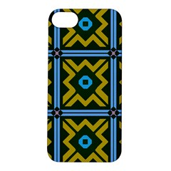 Rhombus in squares pattern Apple iPhone 5S Hardshell Case