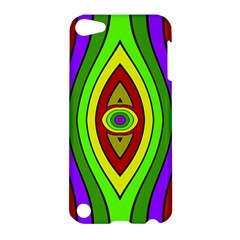 Colorful symmetric shapes Apple iPod Touch 5 Hardshell Case