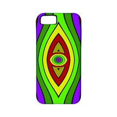 Colorful symmetric shapes Apple iPhone 5 Classic Hardshell Case (PC+Silicone)