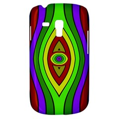 Colorful symmetric shapes Samsung Galaxy S3 MINI I8190 Hardshell Case