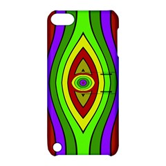 Colorful symmetric shapes Apple iPod Touch 5 Hardshell Case with Stand