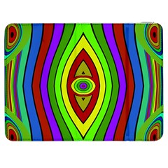 Colorful symmetric shapes Samsung Galaxy Tab 7  P1000 Flip Case