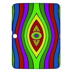 Colorful symmetric shapes Samsung Galaxy Tab 3 (10.1 ) P5200 Hardshell Case