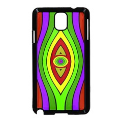 Colorful symmetric shapes Samsung Galaxy Note 3 Neo Hardshell Case