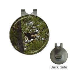Bald Eagle Hat Clips with Golf Markers