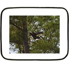 Bald Eagle Fleece Blanket (Mini)