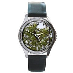 Bald Eagle 2 Round Metal Watches