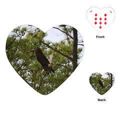 Bald Eagle 2 Playing Cards (Heart)