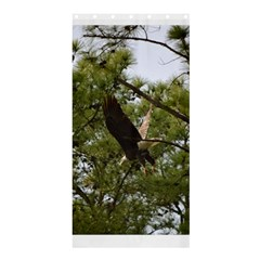 Bald Eagle 2 Shower Curtain 36  X 72  (stall)
