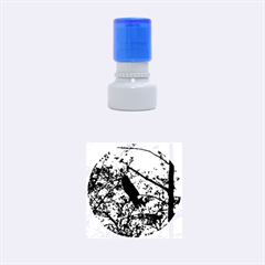 Bald Eagle 2 Rubber Round Stamps (small)