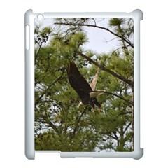Bald Eagle 2 Apple iPad 3/4 Case (White)
