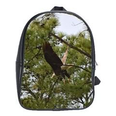 Bald Eagle 2 School Bags (XL)