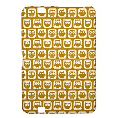 Olive And White Owl Pattern Kindle Fire HD 8.9