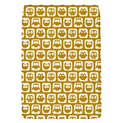 Olive And White Owl Pattern Flap Covers (S)