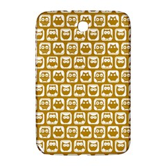 Olive And White Owl Pattern Samsung Galaxy Note 8 0 N5100 Hardshell Case