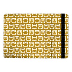 Olive And White Owl Pattern Samsung Galaxy Tab Pro 10.1  Flip Case