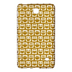 Olive And White Owl Pattern Samsung Galaxy Tab 4 (8 ) Hardshell Case