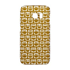 Olive And White Owl Pattern Galaxy S6 Edge