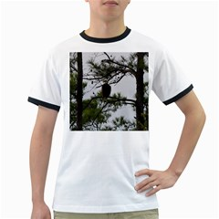Bald Eagle 3 Ringer T-Shirts