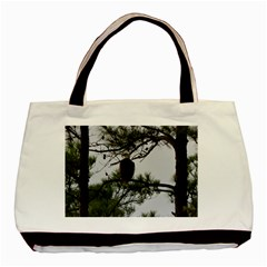 Bald Eagle 3 Basic Tote Bag