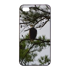 Bald Eagle 3 Apple Iphone 4/4s Seamless Case (black)